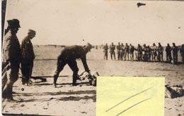 Nella Libia Italiana - 1926-27 - La Cattura Di Un Gruppo Di Ribelli - Dopo  Fucilazione - - Libye