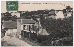 AULNAY-sous-BOIS  -- Paysage Pris De L'Avenue De La République - Aulnay Sous Bois
