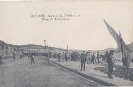 GRECE : ILE DE CEPHALONIE  : ARGOSTOLI  :  Rue Vénizélos - Grèce