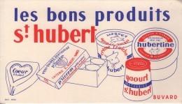 BUVARD & BLOTTER - Les Bons Produits SAINT HUBERT - Fromage  NANCY - Ohne Zuordnung