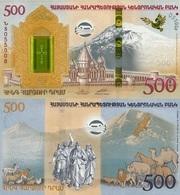 ARMENIA 500 Dram P 60 2017 UNC Plus Collector's Booklet - Armenia