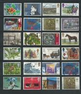 RB - 24 X England - Afgestempeld - Pracht Lot - Nr. 371 - Vrac (max 999 Timbres)
