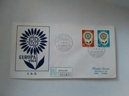 FDC EUROPA CEPT -  1964 - ISLANDA - Europa-CEPT