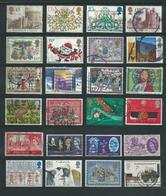 RB - 24 X England - Afgestempeld - Pracht Lot - Nr. 376 - Vrac (max 999 Timbres)