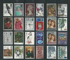 RB - 24 X England - Afgestempeld - Pracht Lot - Nr. 380 - Vrac (max 999 Timbres)