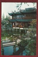 CN.- China. Shanghai. Yuyuan Garden. Botanische Tuin. Theehuis. - China