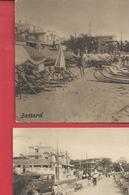 D 06 CPA ANTIBES 2 Cartes JUAN LES PINS De BESSARD //la Plage  Et Le Casino // Boulevard Ed Baudoin N011 - Antibes