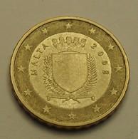 2008 - Malte - Malta - 10 CENT EURO - KM 128 - Andere