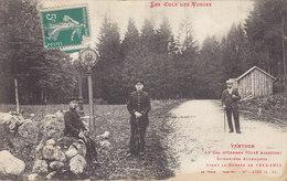 VENTRON - AU COL D'ODEREN DOUANIERS ALLEMANDS AVANT LA GUERRE 1914-DOUANE - France