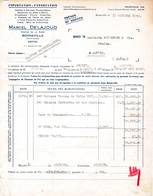 74 BONNEVILLE Haute Savoie  FACTURE 1940 Graines Semences Marcel DELAJOUD  - A56 C/ ST JULIEN EN GENEVOIS - France