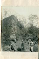 """71 - Le Creusot : Photo - Sur La Montagne Des """" Craques """" Au-dessus De La Combe Des Mineurs - Le Creusot"""