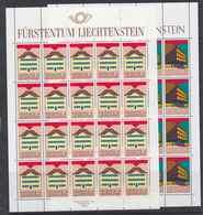 Europa Cept 1990 Liechtenstein 2v   Sheetlets ** Mnh (F7576) - Europa-CEPT