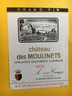 8966 - Château Des Moulinets 1973 Haut-Médoc - Bordeaux
