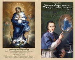 Santino Depliant VENERABILE FRANCESCO ANTONIO MARCUCCI Educatore - PERFETTO P82 - Religione & Esoterismo