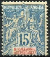 Nouvelle Caledonie (1892) N 46 * (charniere) - Unused Stamps