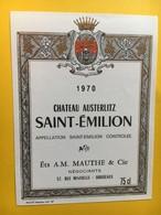 8968 - Château Austerlitz 1970 Saint-Emilion - Bordeaux
