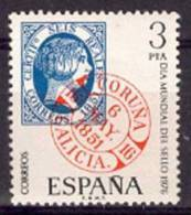 ESPAÑA 1976 - DIA DEL SELLO - Edifil 2318 - YVERT 1964 - Timbres Sur Timbres