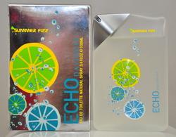 Davidoff Echo Summer Fizz Eau De Toilette Edt 100ML 3.4 Fl. Oz. Spray Perfume Man Rare Vintage Old 2006 New - Fragrances (new And Unused)