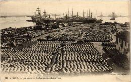 CPA Geiser 623; Alger- Les Quais, Embarquement Des Vins. ALGERIE (765005) - Alger