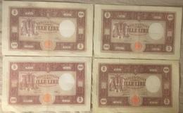 1000 Lire M Grande Decreti 1946/1947 - [ 1] …-1946 : Kingdom