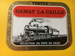 8977 - Locomotive Gamay La Caille Jean-Pierre Testuz Treytorrens Suisse - Trains