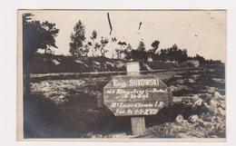 Guerre 1914-1918 : Tombe Soldat Allemand Né à Könisberg En 1896 Et Décédé Le 1-1-1917 - War 1914-18