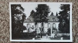 CPSM COURTENAY LOIRET LE CHATEAU DU GRAND VAULXFINS  1952 - Courtenay