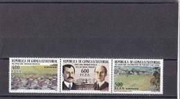 Guinea Ecuatorial Nº 330 Al 332 - Equatorial Guinea