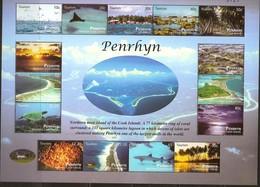 Penrhyn 2011 Yvertn° Bloc 96 *** MNH Cote 25 Euro Tourisme Faune Et Flore - Penrhyn