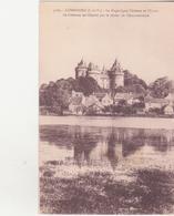 CPA -  3122. COMBOURG Le Magnifique Château Et L'étang............... - Combourg