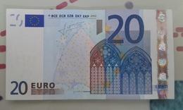2018#010 - 20 Euros M013I3 - EURO