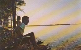 South Carolina Greenwood State Park Lake Fishing - Greenwood