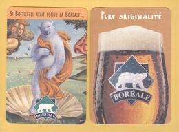 1 S/b Bière Boréale (recto-verso) Canada - Beer Mats