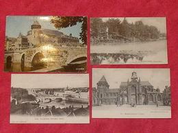 Carte Postale / Mayenne  / Département 53 / Lot De 4 Cartes - Ohne Zuordnung