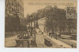 BLOIS - Perspective Sur Les Jardins De La Reine - Blois