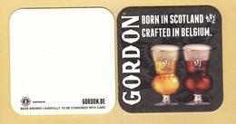 1 S/b Bière Gordon (recto-verso) - Beer Mats