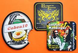 N°802  LES  NOUVEAUTES LOT 215 - Beer Mats