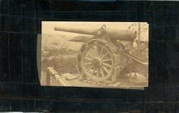 Guerre 14/18 Un Canon - Guerre, Militaire