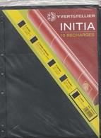 Yvert Et Tellier 10 Recharges INITIA 1 Poche - Matériel Neuf - Albums & Reliures