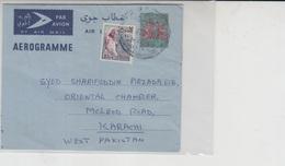 Sudan Air Letter To Pakistan   (Red-2402) - Sudan (1954-...)
