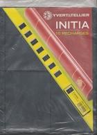 Yvert Et Tellier 10 Recharges INITIA 4 Poches - Matériel Neuf - Albums & Bindwerk