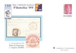 España Sobre Entero Postal Nº 57 - Stamped Stationery