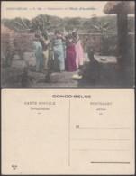 Congo Belge 1910 - Carte Postale Nr. 148.  Fabrication De L'Huile D'Arachides  Ref. (DD)  DC0277 - Congo Belge - Autres