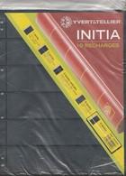Yvert Et Tellier 10 Recharges INITIA 6 Bandes - Matériel Neuf - Albums & Bindwerk