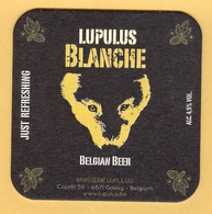 1 S/b Bière Lupulus Blanche - Beer Mats
