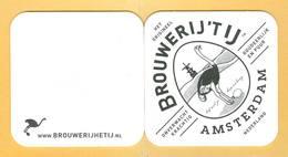 1 S/b Bière Amsterdam (recto-verso) - Beer Mats