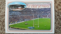 CPM STADE DE FRANCE SAINT DENIS MATCH DE RUGBY ED RAYMON PHOTO JN DUCHATEAU - Stades
