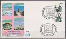 BRD FDC 1988 Nr.1341 C+D Senkrechtes Paar Sehenswürdigkeiten  (d4705)  Günstige Versandkosten - [7] República Federal