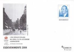 España Sobre Entero Postal Nº 94 - Enteros Postales