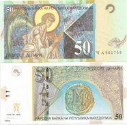 Macedonia 50 Denari 2003. UNC P-15d - Macédoine
